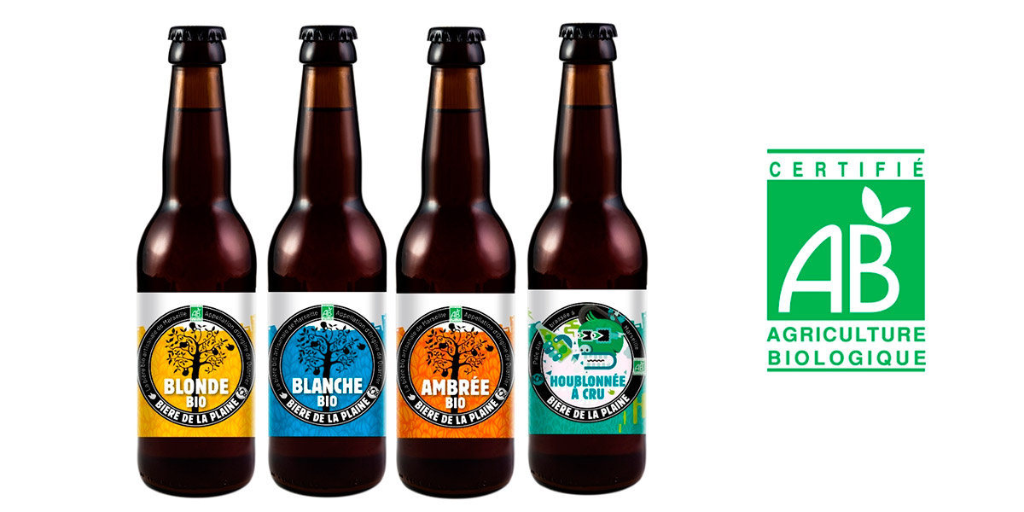 bières bio brasserie de la plaine
