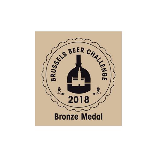 Brussels Beer Challenge Bronze 2018