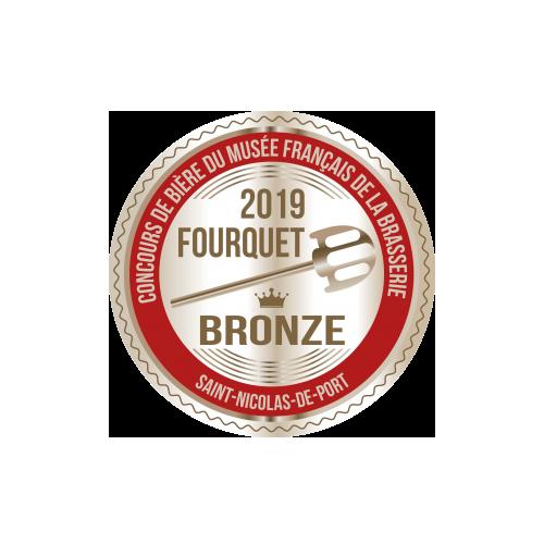 concours de bière du musée français - Médaille Bronze 2019