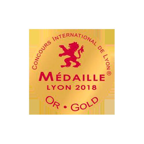 Concours International Lyon - Médaille or 2018