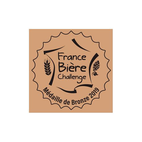 France Bière Challenge - Médaille Bronze 2019