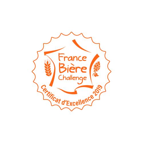 France Bière Challenge - Médaille Excellence 2019
