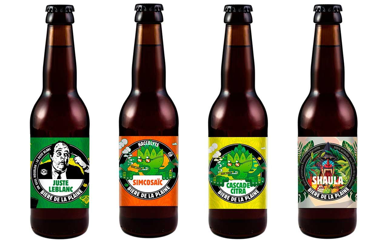 gamme éphémère bière de la plaine