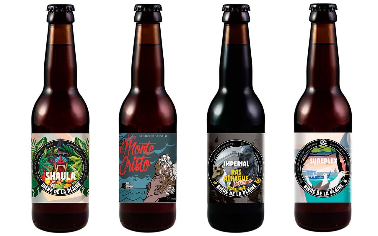 gamme mixte et barriquée bière de la plaine