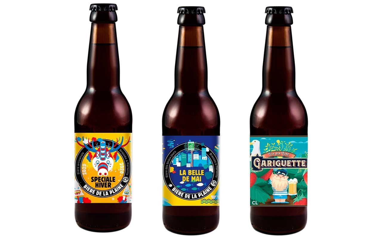 gamme saisonnière bière de la plaine