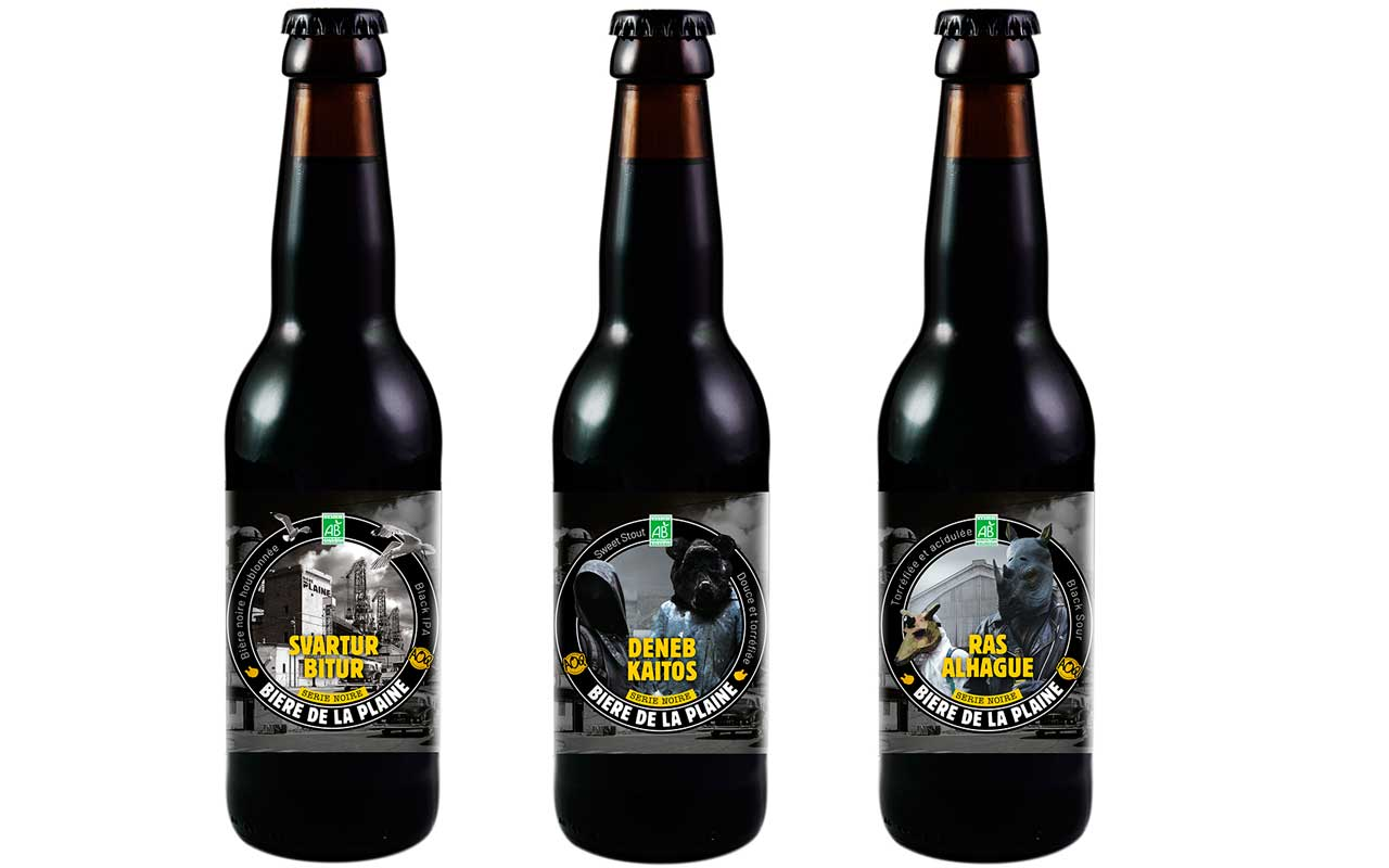 gamme torrefiée bière de la plaine