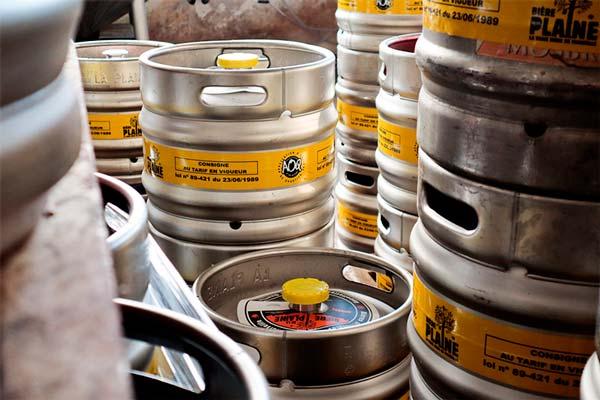 location fûts de bière