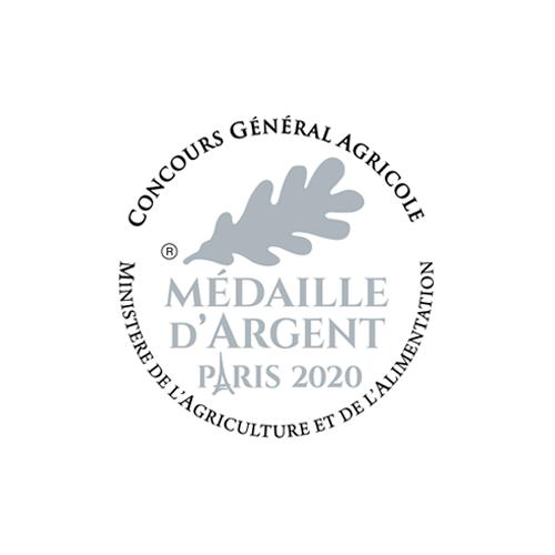 Concours Général Agricole - Médaille Argent 2020