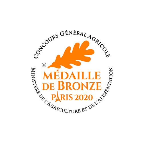 Concours Général Agricole - Médaille Bronze 2020